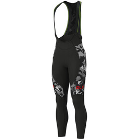 Alé Cycling Graphics PRR Glass Culotte largo con tirantes Hombre, black-grey